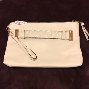 Off white Clutch purse